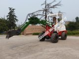 AugerのセリウムCertificated 1.0 Ton Mini Loader (HQ910C)