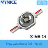 Módulo de Advertisting de la inyección de la lente LED del efecto del Bat-Wing de la UL DC12V 0.5W SMD2835 IP67 del Ce para los rectángulos ligeros