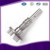 Acier inoxydable Pinion Cold Gear Shaft avec SGS certificat