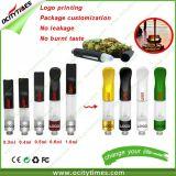 Großhandelsöl-Kassette der vaporizer-Feder-Kassetten-0.6ml Cbd von Ocitytimes