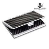 OEM Design Carbon Fiber Business Card HolderかName Card Case