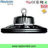 Indicatore luminoso industriale 100W 150W 200W LED Highbay del UFO con 120lm/W
