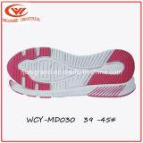 Sola de Outsole EVA da sapatilha da forma para homens e sapatas das mulheres