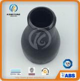 Ajustage de précision de pipe concentré de réducteur d'acier du carbone avec TUV (KT0046)