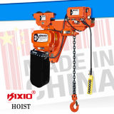 0.5 tonnellate Motor Trolley Electric Chain Hoist con Hook Block