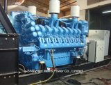 taux en attente 2000kw 2500kVA de générateur diesel de MTU de 1830kw 2288kVA Allemagne