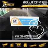 Erz-Bergbau-Wiederanlauf-Maschinerie-Schwerkraft-vibrierendes Tisch-Goldkonzentrator-Trennzeichen