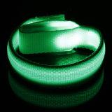 マルチカラー工場価格の点滅の安全連続した乗馬LEDの腕章