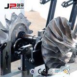 Macchina dell'equilibrio dinamico del rotore e dell'asta cilindrica del Turbo