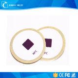 Etiqueta engomada elegante impermeable modificada para requisitos particulares de la etiqueta de NFC