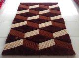 Materia textil antirresbaladiza de la manta de la alfombra 5D de Inspissate