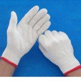Hete Verkoop die Katoenen van de Bedrijfsveiligheid Gebreide Handschoenen werken