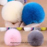 La Cina pelliccia all'ingrosso POM del coniglio del Faux della peluche e di Flully per la decorazione