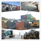 Oil Machine에 폐기물 Rubber Recycling