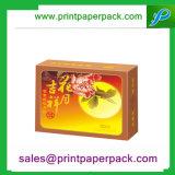 Precioso regalo del papel de embalaje de la caja de Mooncake