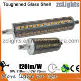 선형 텅스텐 할로겐 램프를 대체하는 LED R7s