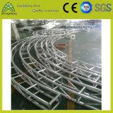 段階装置の水平の円のトラス
