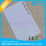125kHz RFID leu e escreveu a cartão o cartão que pode escrever-se T5577