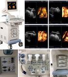 Heißes Sale 4D Imaging Color Doppler Ultrasound Diagnostic System Cer Approved
