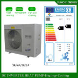 Bomba de calor negativa Evi de Monoblock do aquecimento de assoalho da fonte de ar 12kw do tempo do inverno 25c 220V