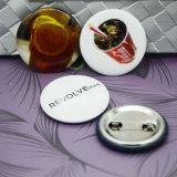 Divisa redonda de encargo del Pin de metal de la seguridad, regalos promocionales de la divisa del botón del estaño