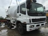 Verwendeter schwerer Isuzu Rad-Betonmischer-Förderwagen (Diesel-10PE1, CXZ81K)