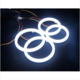 최고 밝은 백색 두 배 색깔 보편적인 달무리 반지 LED 반지 빛 차 천사 눈