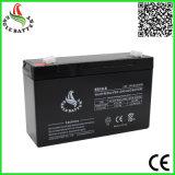 batterie d'acide de plomb exempte d'entretien rechargeable de 6V 10ah