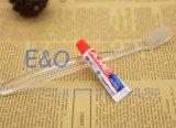 ¡Venta caliente! Cepillo de dientes transparente disponible de la amenidad del hotel