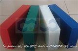 Hoja plástica modificada para requisitos particulares de los PP con el espesor de 5-30m m