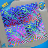 3D laser su ordine Holgraphic Sticker