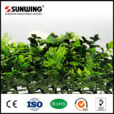 Jardín al aire libre UV protegido valla de plástico artificial del boj de la guirnalda