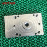 Подгонянная часть металла CNC высокой точности подвергая механической обработке путем филировать для пневматического цилиндра