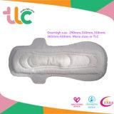 OEM 290mmの柔らかい綿の陰イオンの生理用ナプキンかパッド