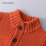 Couche 100% orange d'enfants de laine d'agneau pour des garçons