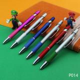 Crayon lecteur en plastique neuf promotionnel de crayon lecteur de bille d'aperçu gratuit sur la vente