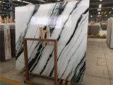 Indoor Decoration中国Panda Whiteのための白いMarble Tile
