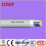Кабели Nvv (NYM) изолированные PVC Multi-Core с медным проводником