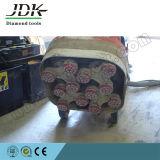 stootkussens van de Vloer van de Diamant van 80mm de Klitband Gesteunde voor Concrete Oppoetsende Hulpmiddelen