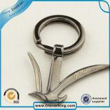 제조자 주문 금속 Keychain 접어젖힌 옷깃 Pin