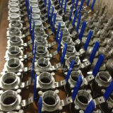 API Steel 3PC Ball Valve met NPT Thread