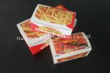 Colorear el rectángulo de empaquetado del pollo de papel de los alimentos de preparación rápida