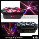 Spinne Beam Light 9PCS 10W 4in1 Mini LED Moving Head Spider Light