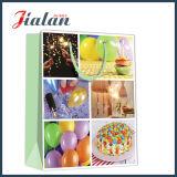 Feiertags-Geburtstag-Serien-kundenspezifisches preiswertes Firmenzeichen gedruckter Papiersüßigkeit-Beutel