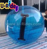 Bola de água inflável de PVC colorido para adulto