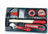 Berufsselbsthandwerkzeug-Kasten, Hilfsmittel-Wagen mit Hilfsmitteln
