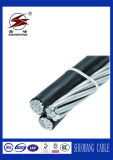 Aluminium 좌초된 Conductor Aerial Bundle 1kv ABC Cable