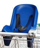 Accessori del carrello del carrello di acquisto della drogheria del supermercato del metallo