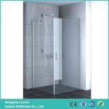 Pivote sin marco espacio para duchas