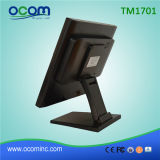 Monitor de exhibición de escritorio flexible barato de la pantalla táctil de TM1701 LCD